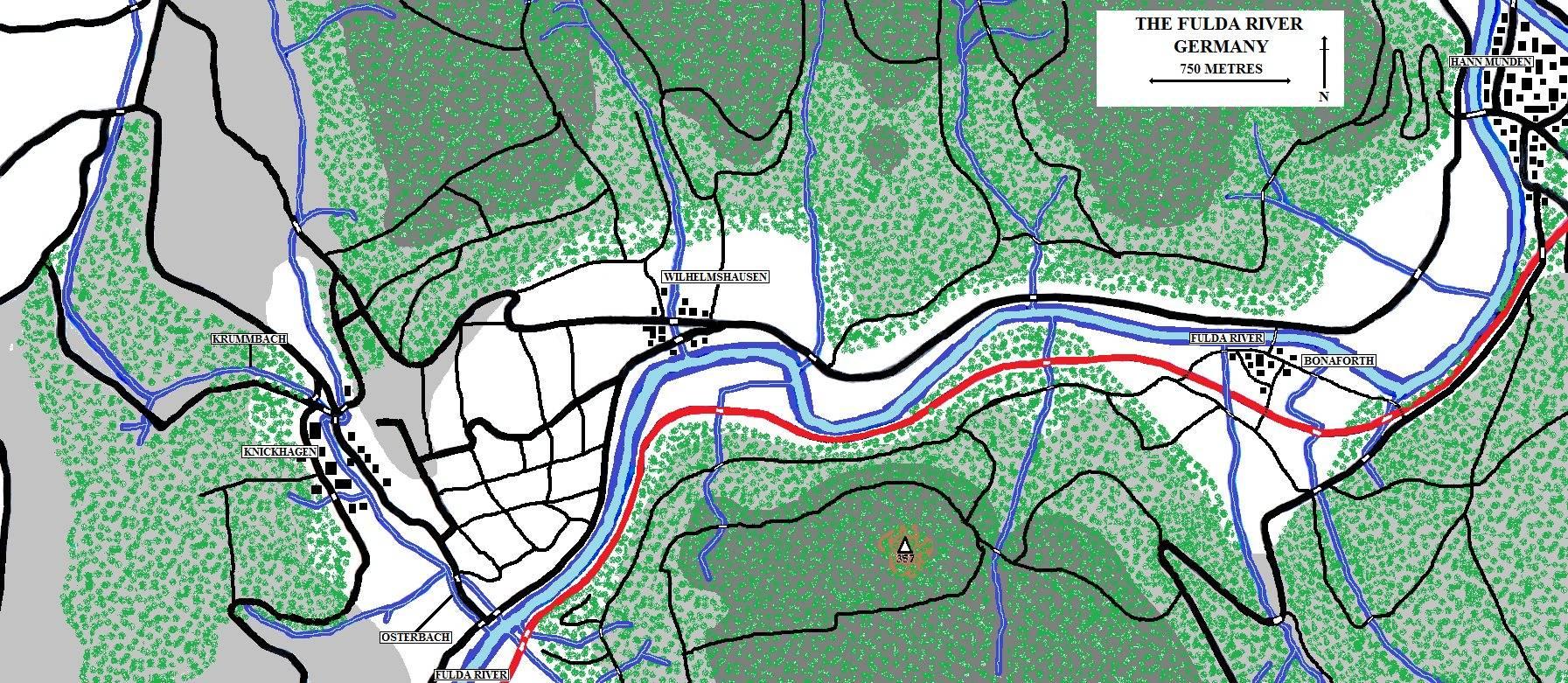 Fulda River battleground