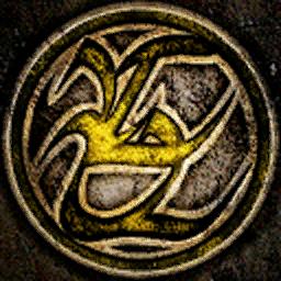 Great Shaft yellow symbol
