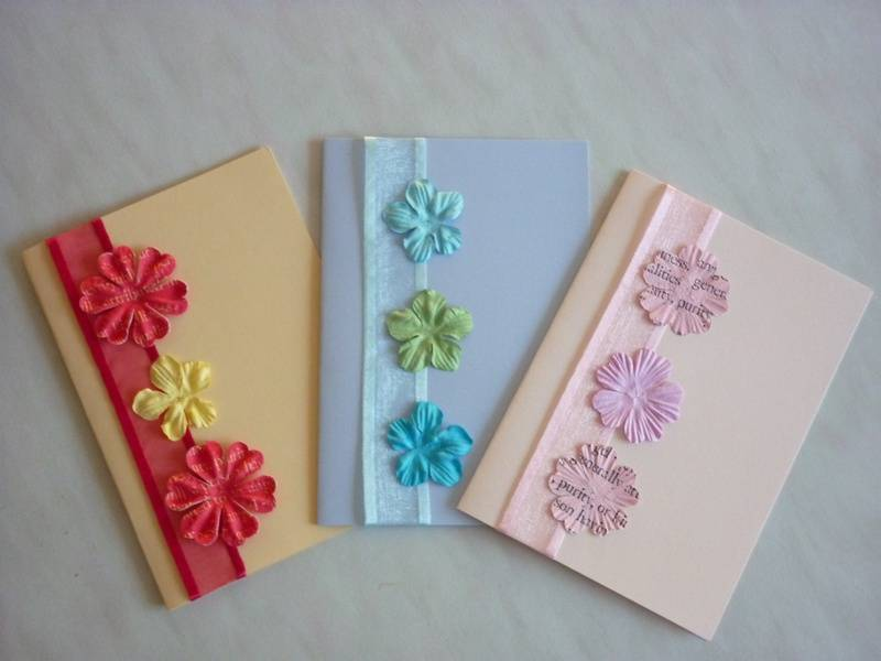 Easiest Card Ever - Simple Flower Cards