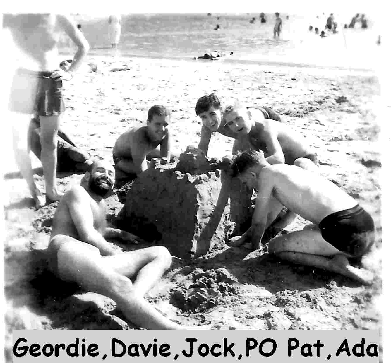 Geordie,Davey,Jock,PO Pat. Aden