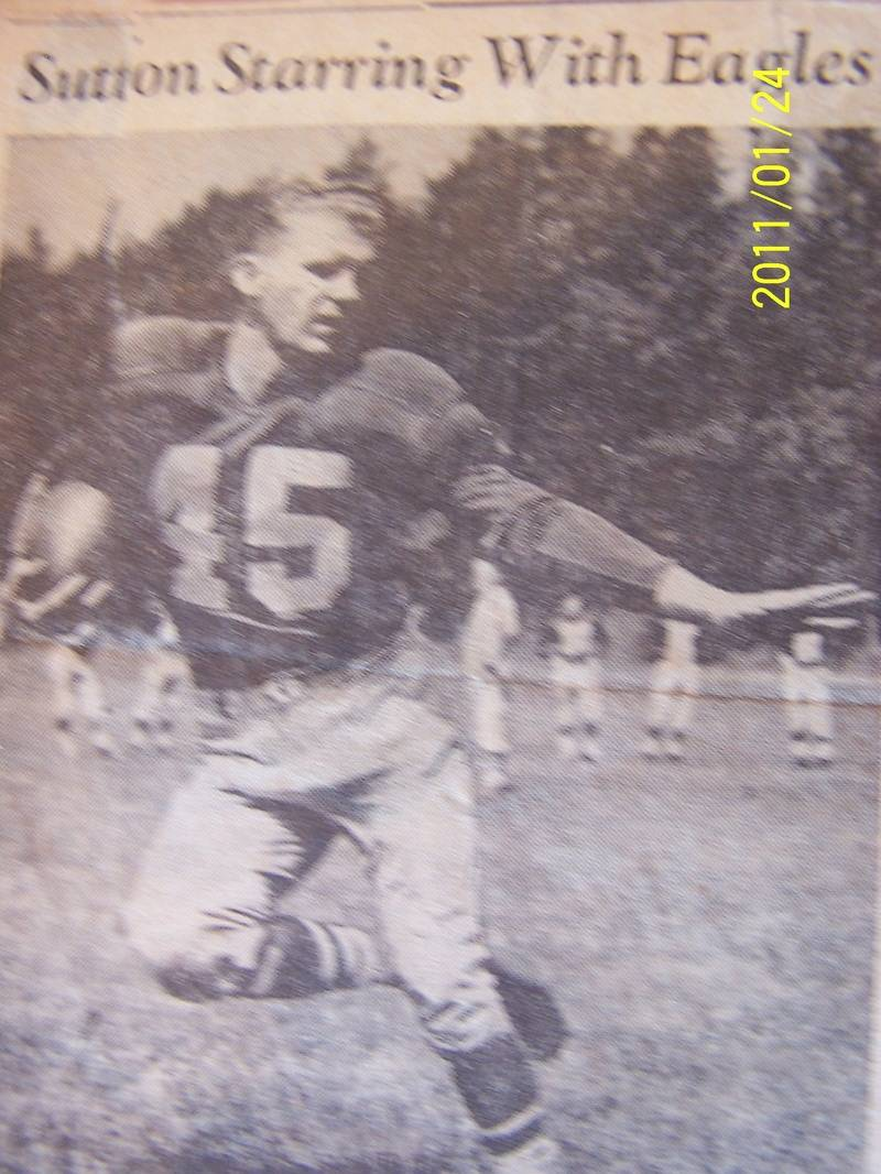 1950 eagles joe sutton