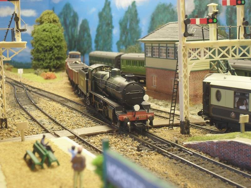 N-Class departing the Ardingly spur