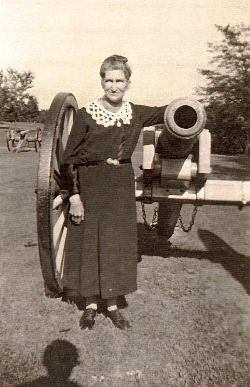 Sarah Belle (Swope) Fisher (1860-1937)