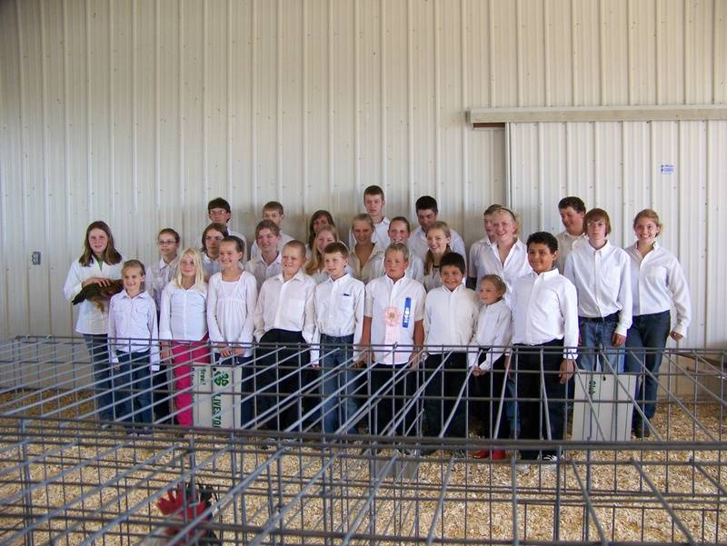 4-H Beltrami Co. Poultry Project kids