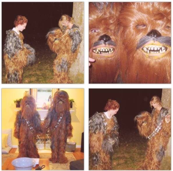 A couple of wookies