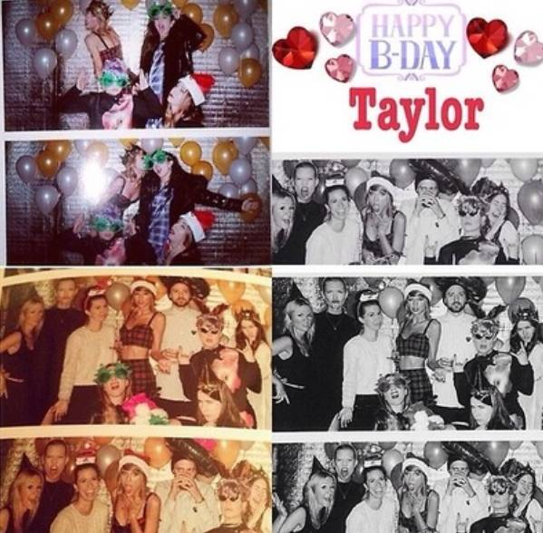 Taylor's 25th birthday party