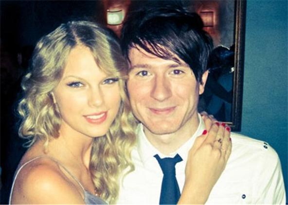 Taylor with Adam Young