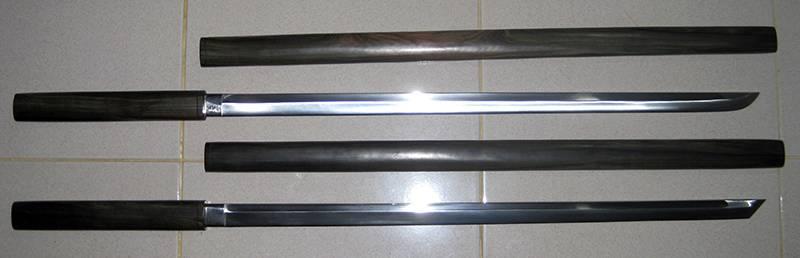 Shirasaya and Cane Katana Sword