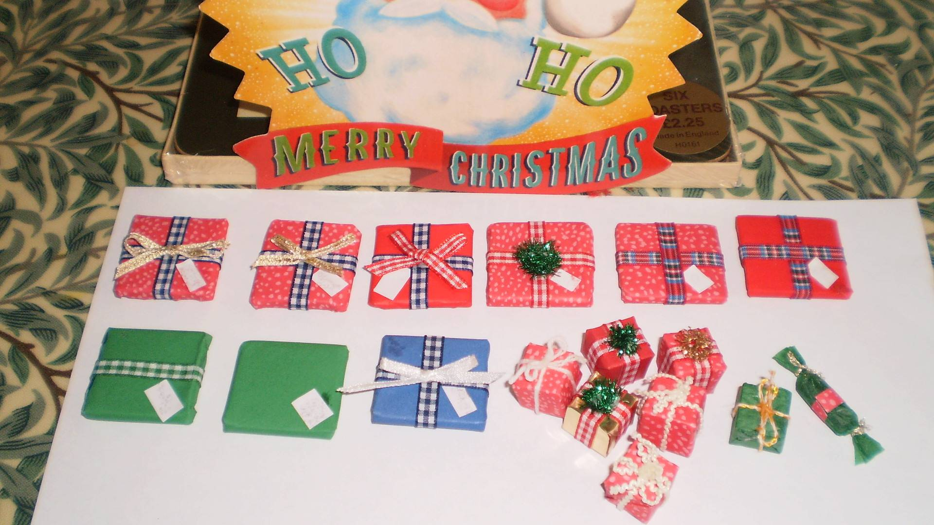 More Christmas parcels!
