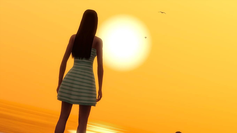 Sim at Sundown