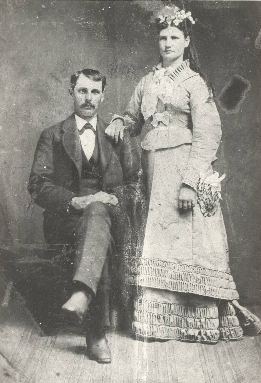 Unknown couple abt 1850-1880's (guestimate)