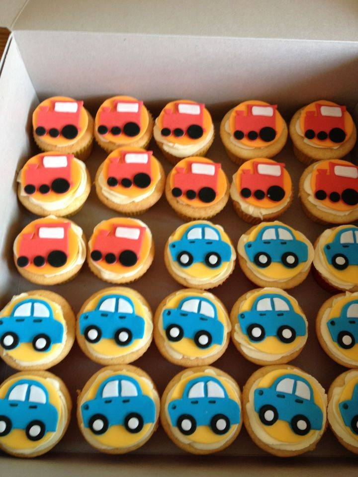 Trucks and Cars Cupcakes