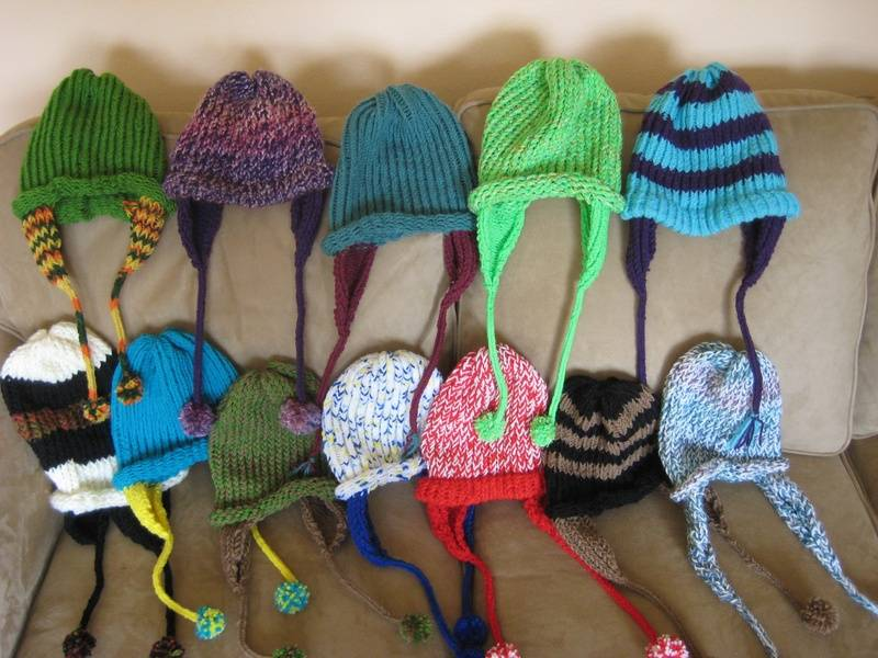 Some of the hats I've made