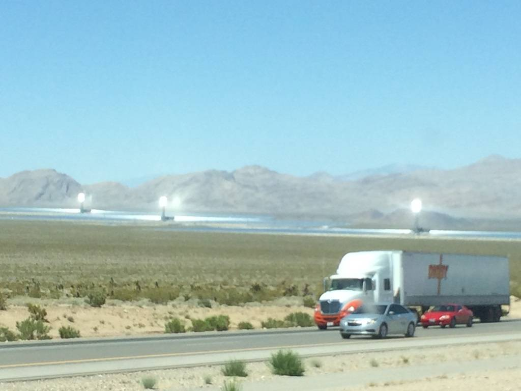 Solar Plant outside of Vegas