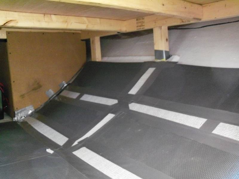 cheap basement flooring