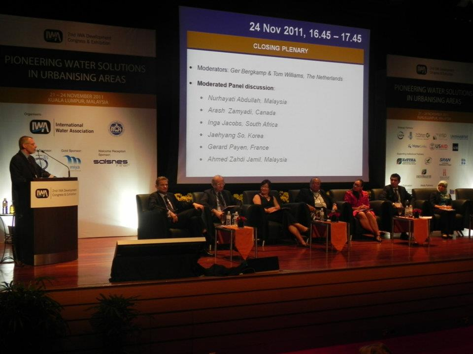 2nd International Water Association (IWA) Development Congress & Exhibition Closing Plenary