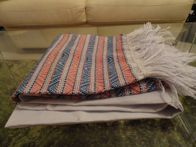 "A handmade tanchangya women waist-scarf called ""paaduri"""