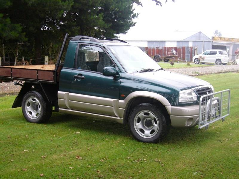 2002 Suzuki Vitra 4 door converted to S/Cab