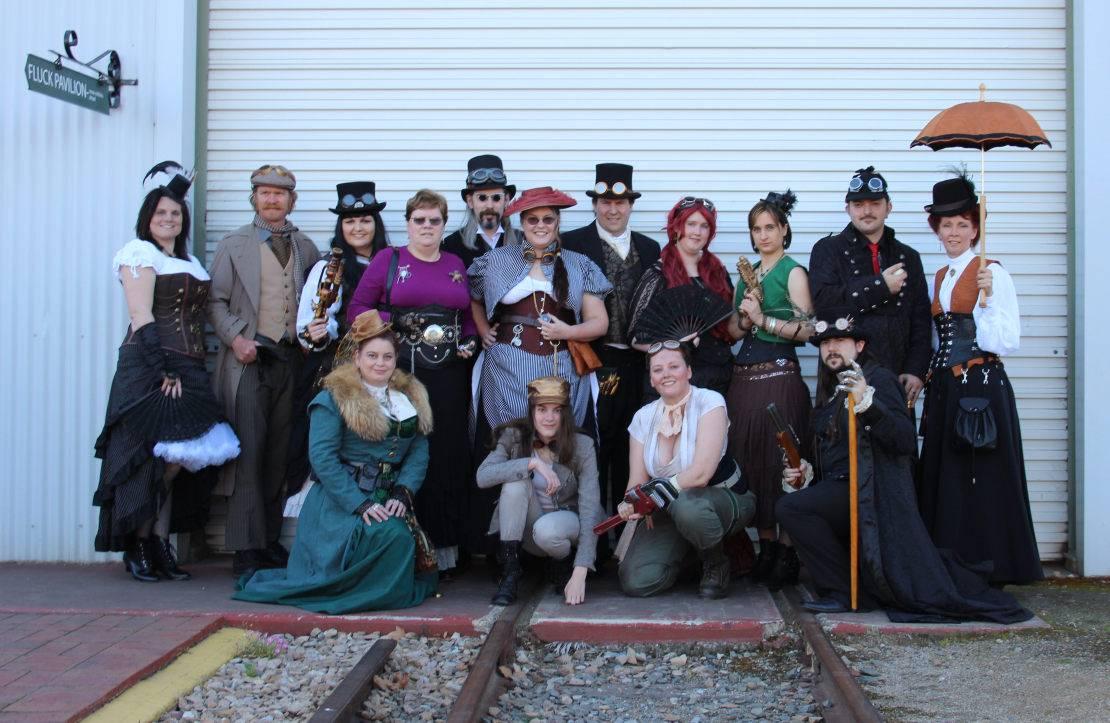 Steampunk SA and ACG members