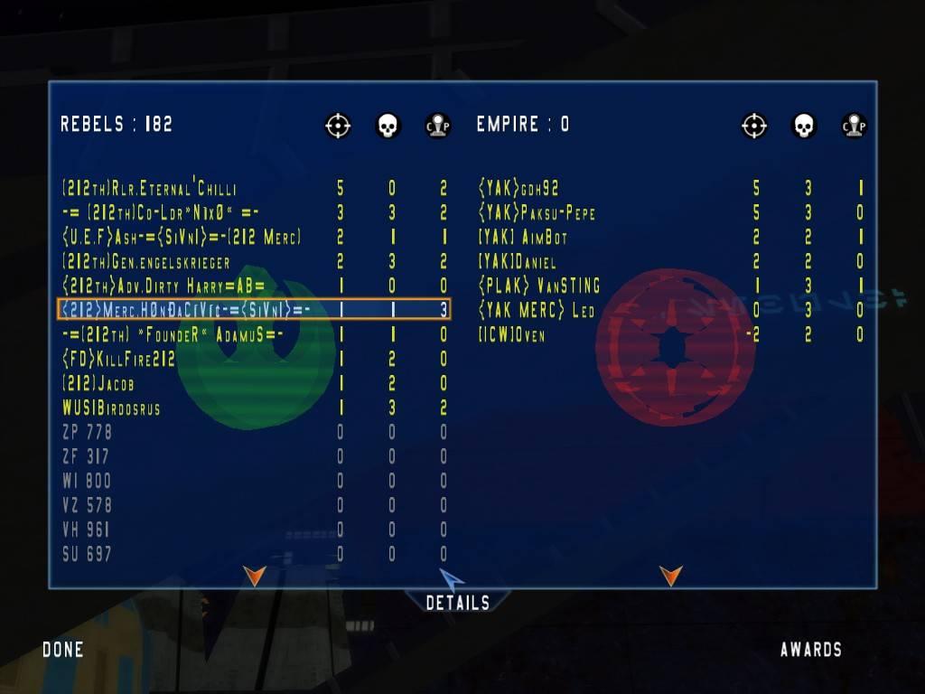 212 vs FC/YAK