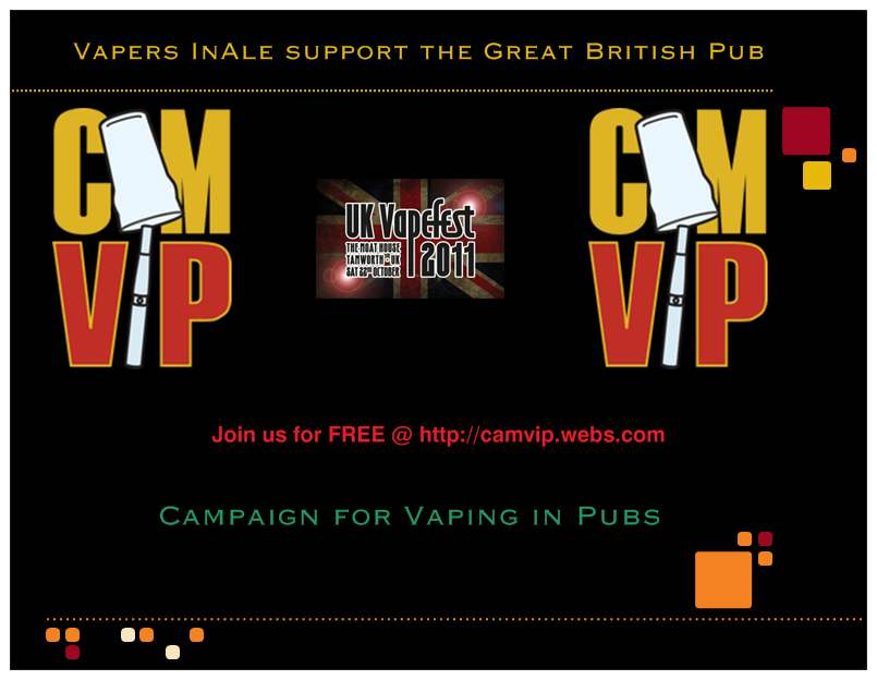 CAM-VIP supports VapeFest 2011