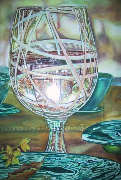 Fall in a Glass
