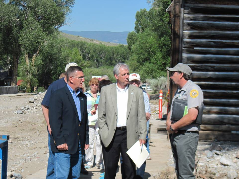 LT Governor, State Parks Head, Bannack Manager