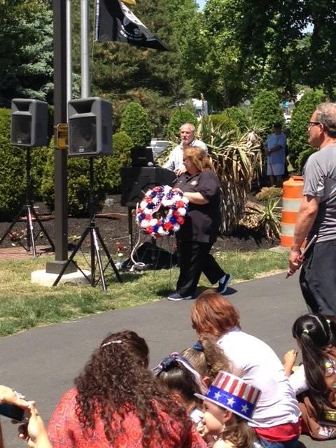 Memorial Day Wreath Laying Veterans Park, Gloucester Twp
