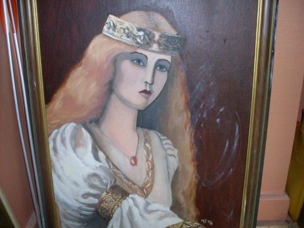 medieval lady.