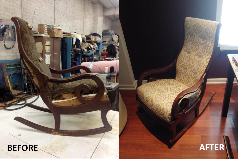 Rocker Before and After