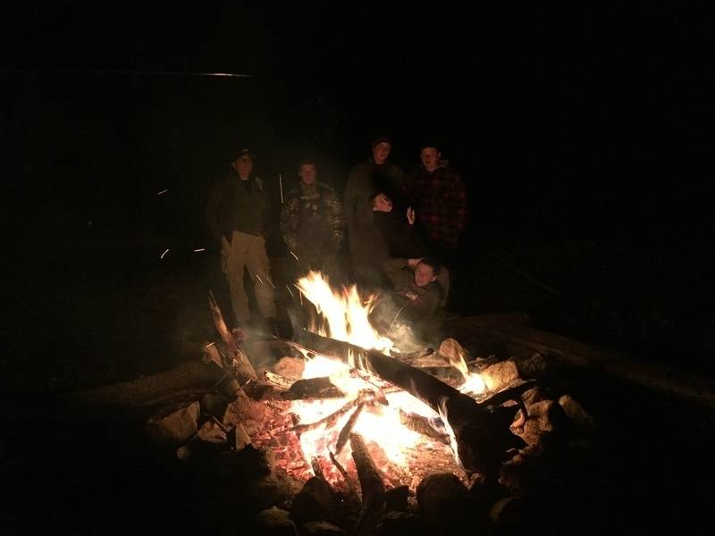 Sat Night Bonfire