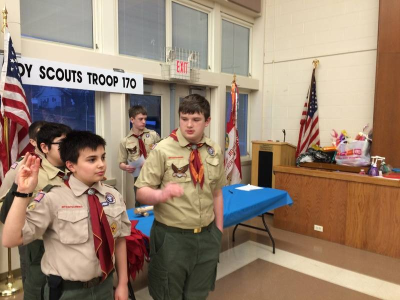 Welcome new scouts
