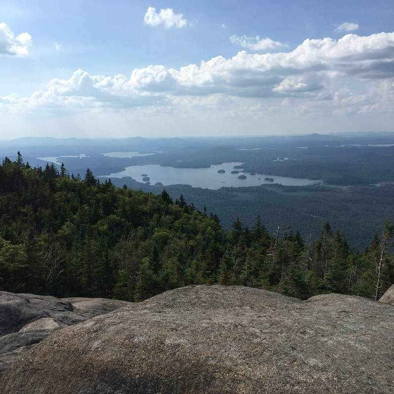 North view (Middle Saranac Lake)