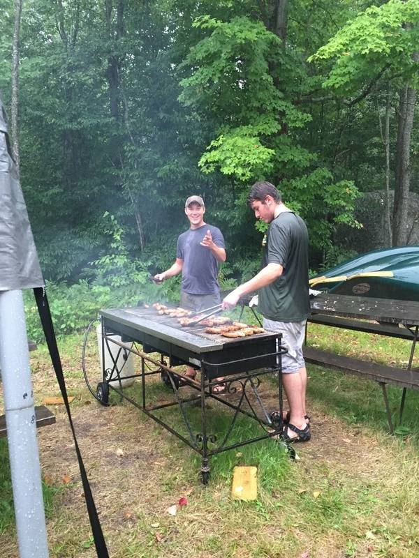 Base camp chefs