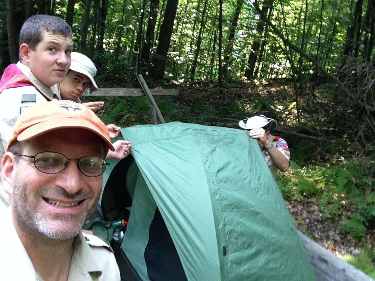 Set up in Base Camp