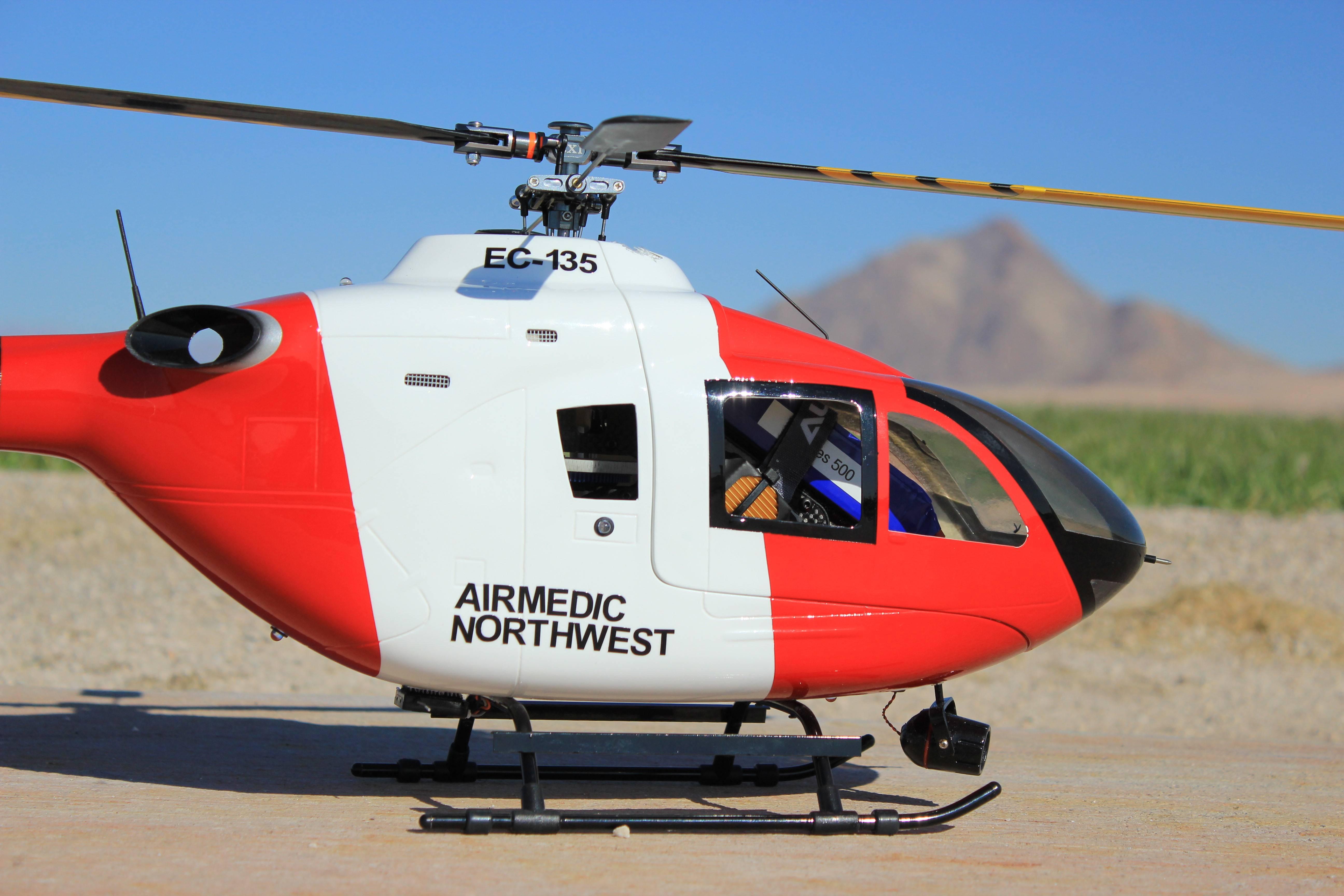 TR450 in the EC135 body