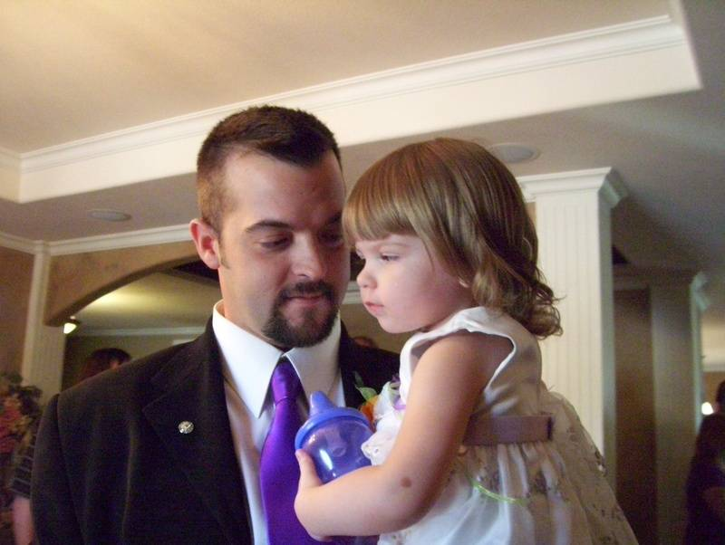 Youngest son Scott with his youngest Daughter Jersey Lynn Squires