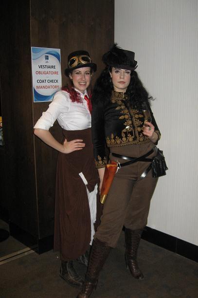 Steampunk Ladies with Attitude