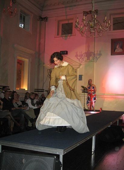 Rowan in Civil War attire