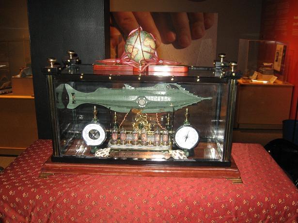 Incredible Creation - Nautilus Clock