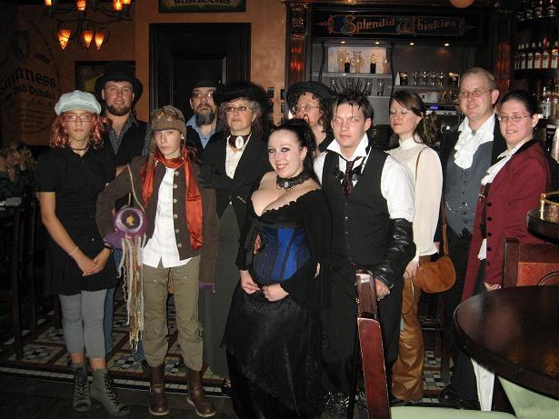 Steampunk Ottawa Pub Night