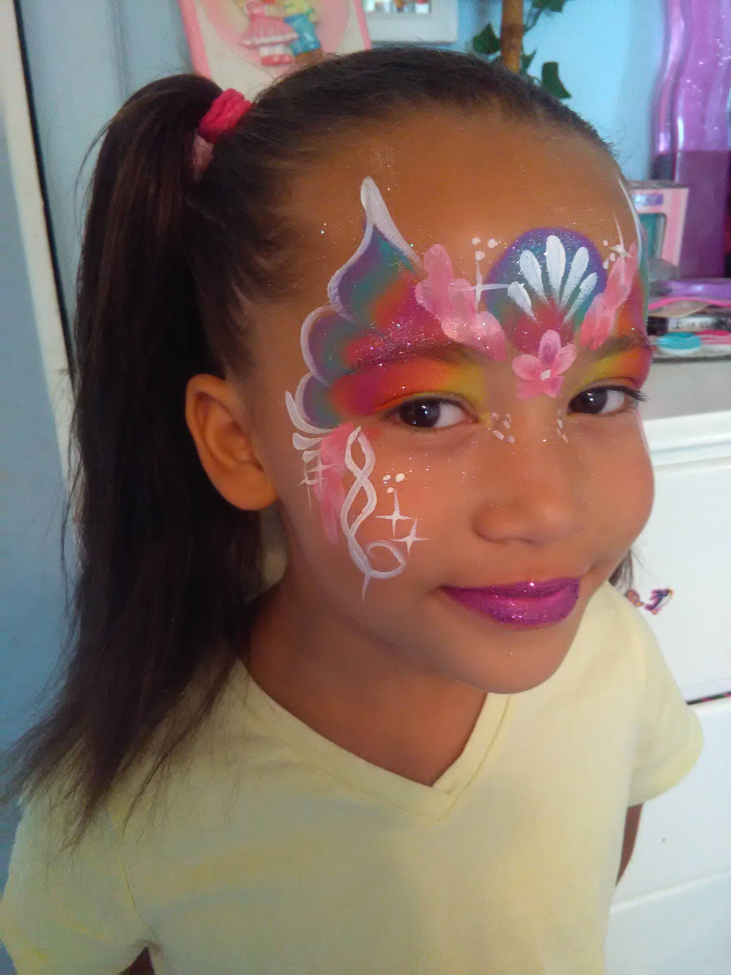 Spring Mask face paint