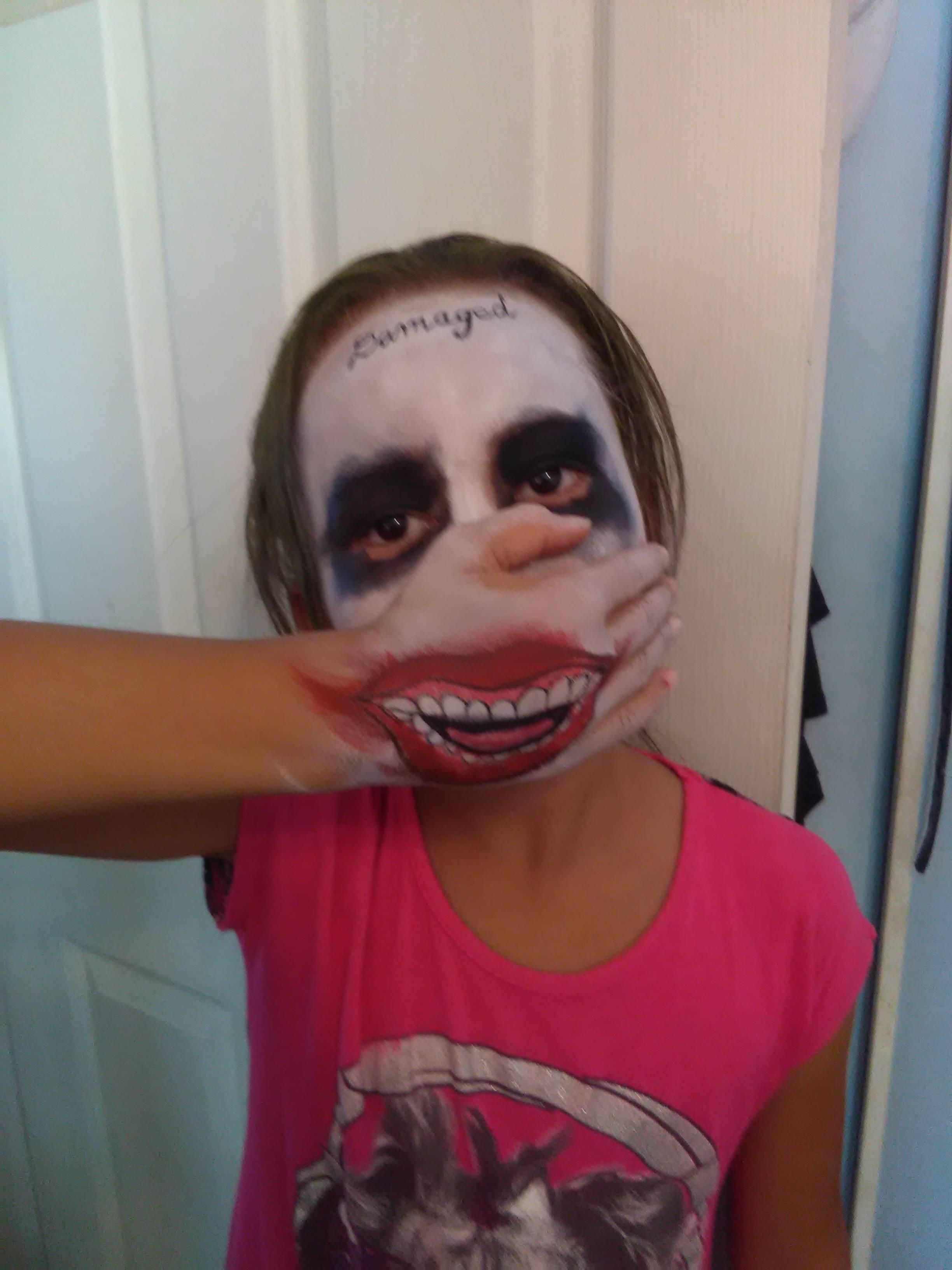 Joker face paint