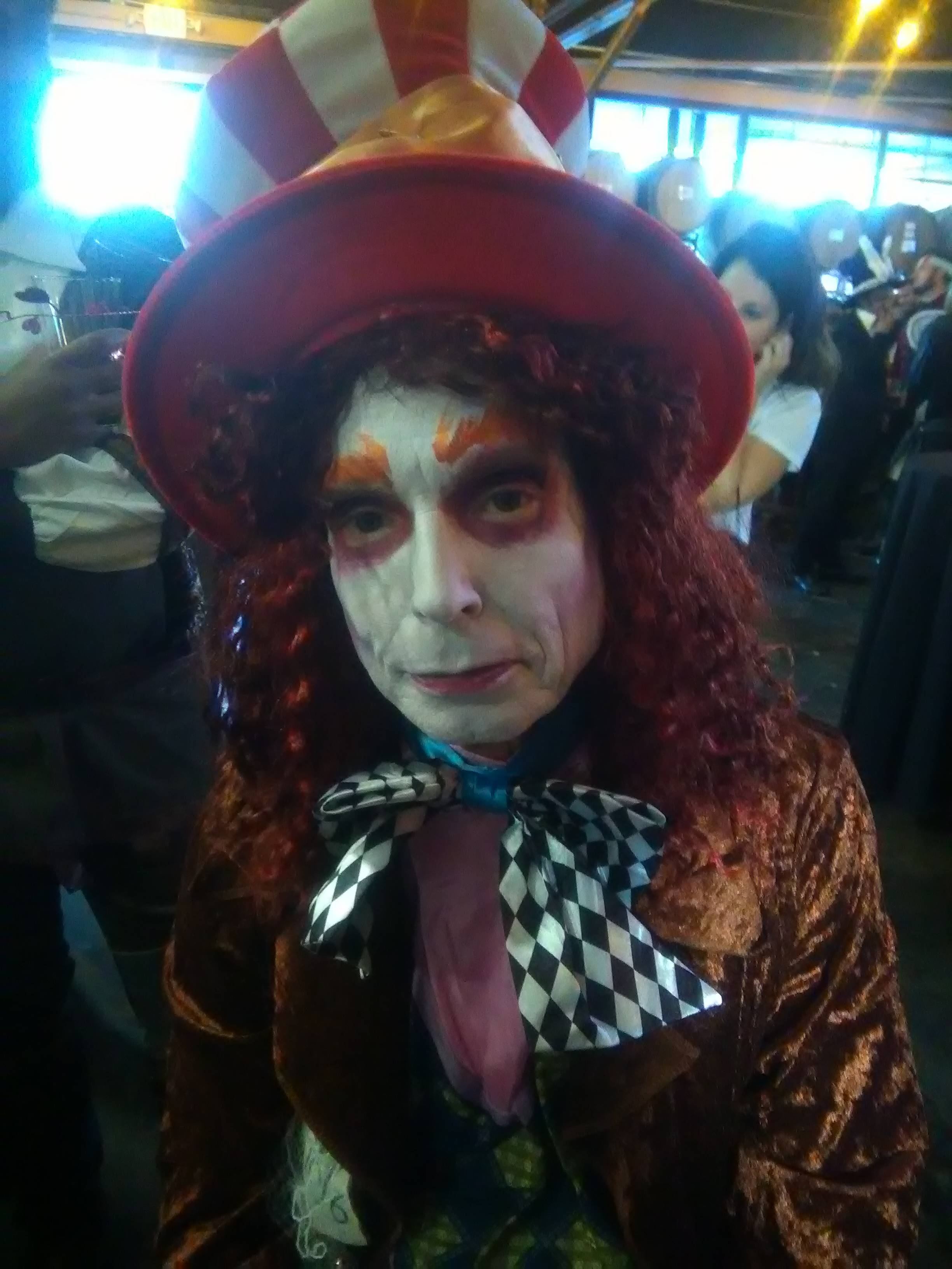 Monster Mash Fairy Tale Bash CHOA Mad Hatter face paint