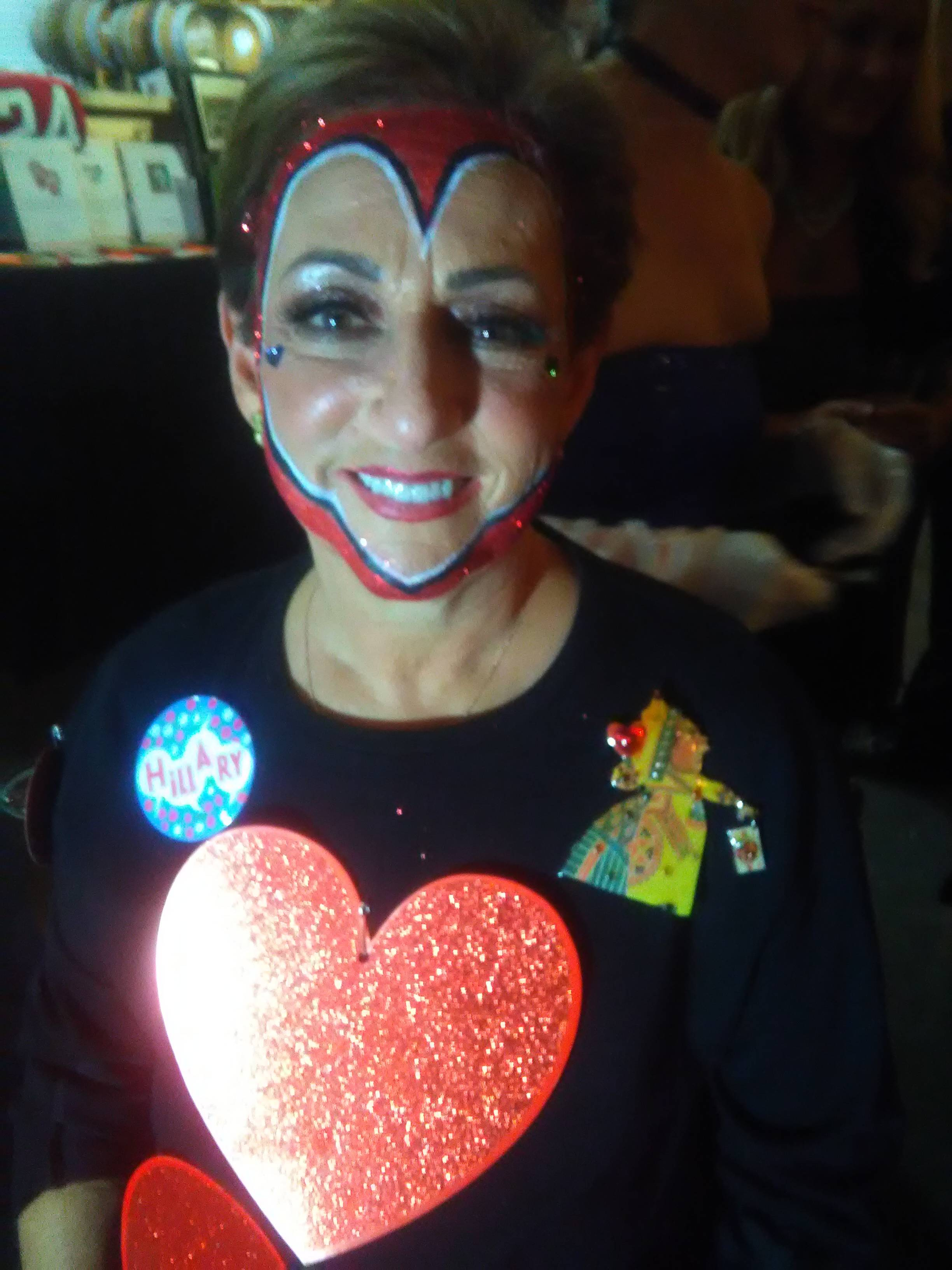 Monster Mash Fairy Tale Bash CHOA Queen of Hearts Face Painting