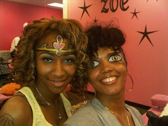Princess Diamond and Rasheeda Tiger