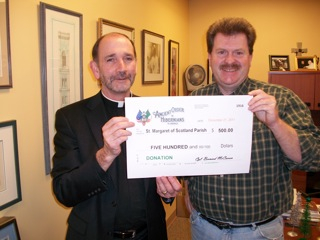 Donation to St. Margaret of Scotland Parish