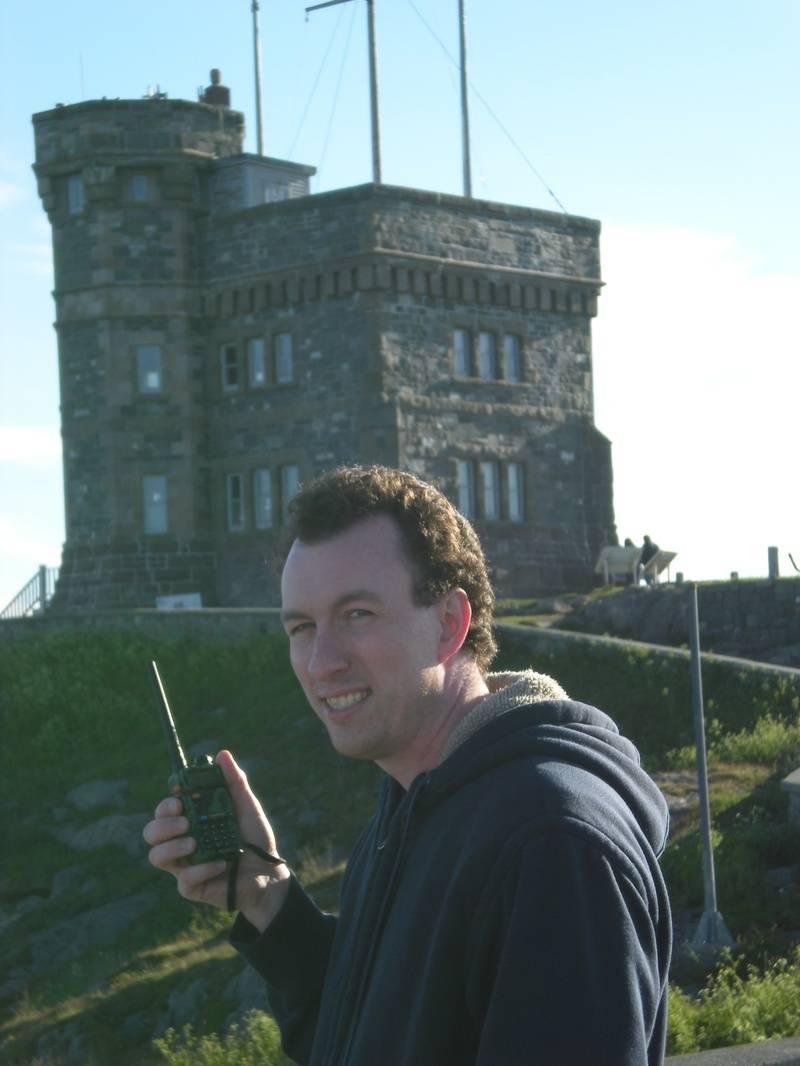 Sam VA3ACJ on a hanheld 2meter/440 radio wishing everyone a good day.