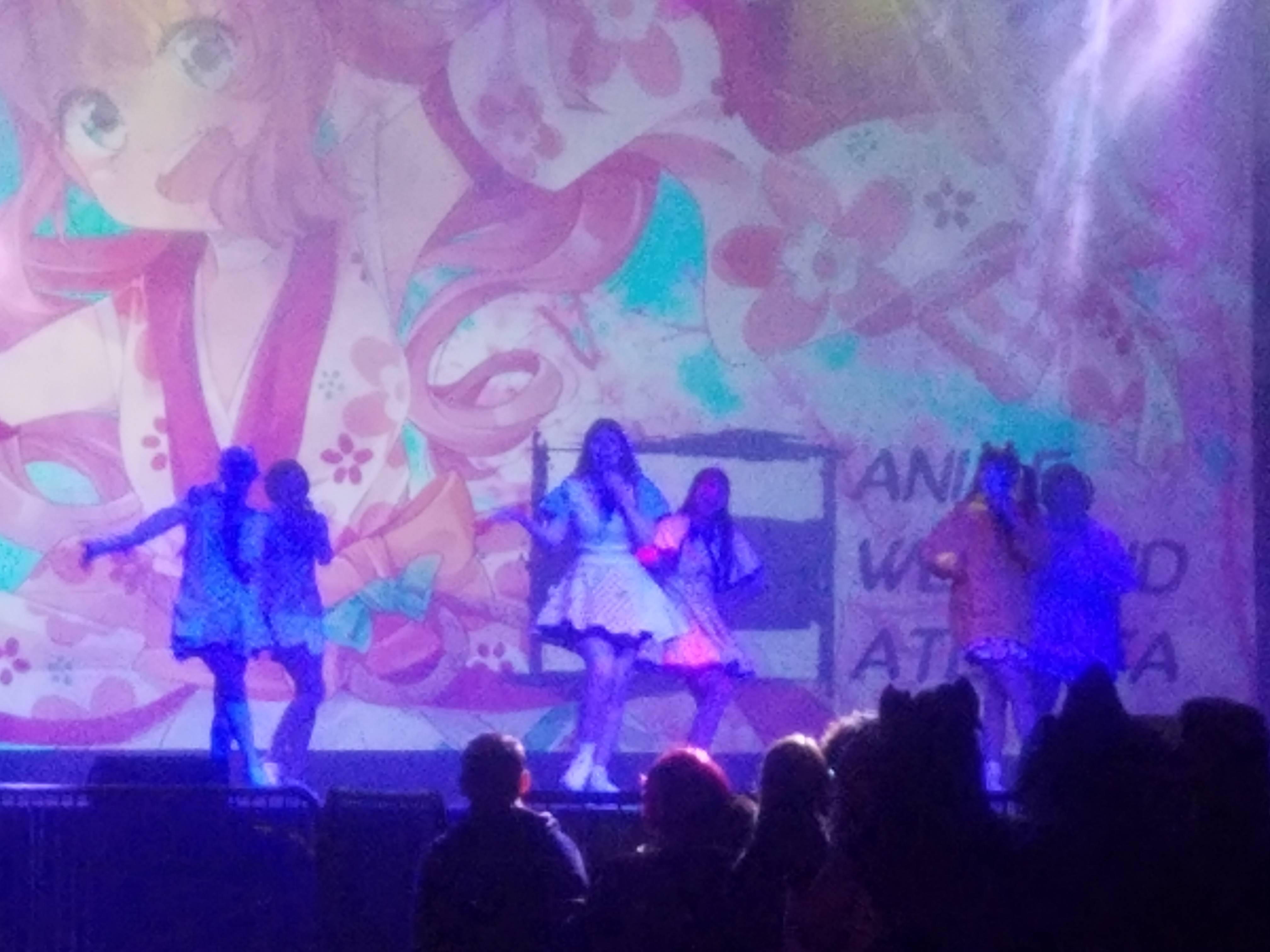 AWA Idols at the Opening Ceremonies