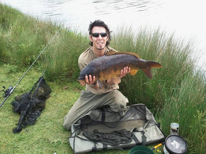 3rd fish in 3.5 hrs...jst under 24lb mirror :)